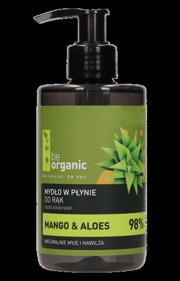Be Organic Mydło w płynie do rąkMango & Aloes