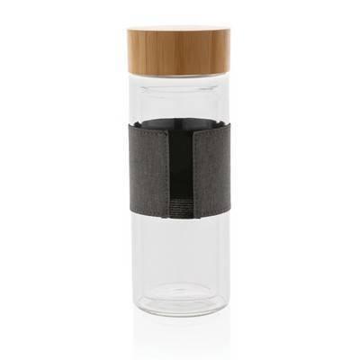 Szklana butelka Impact 360 ml w pokrowcu
